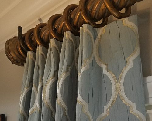 Custom draperies / Curtains